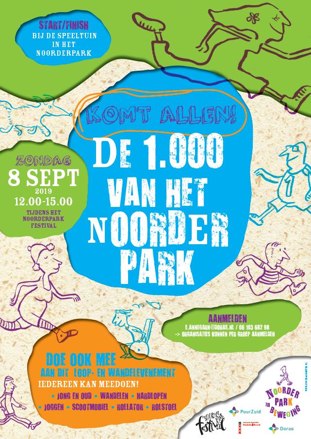 De 1000 van het Noorderpark