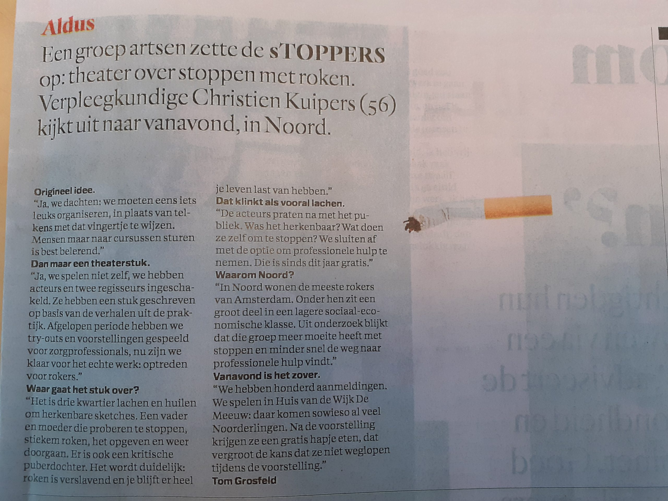 sTOPPERS in Parool